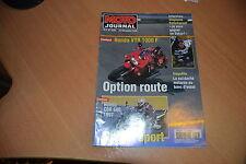 MOTO JOURNAL N° 1259 Honda 600 CBR.Honda 1000 VTR