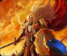 World of Warcraft BLOOD ELF PALADIN Custom Mousepad USA SHIPPING