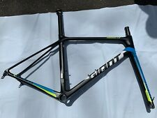 Giant TCR Advanced PRO disc carbon road bike frameset size M USED
