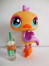 Littlest Pet Shop LPS # 516 Ostrich Starbucks Cup Year 2007