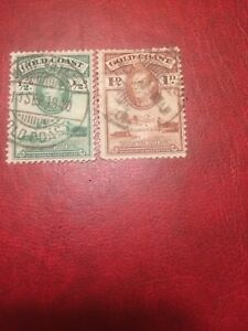 Gold Coast stamps 1938 USED King George VI & Christiansborg Castle