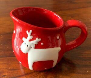 Gisela Graham Reindeer Christmas Jug