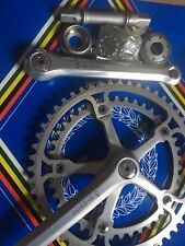 NOS CX Ofmega COLNAGO Road Bike Crankset 42/52T Double Vintage Bicycle 170mm