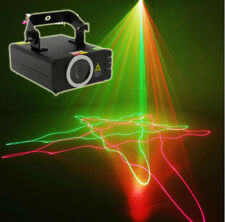 DMX 200mW RED Green RG Laser Stage Light Scanner DJ Party Show Xmas Light