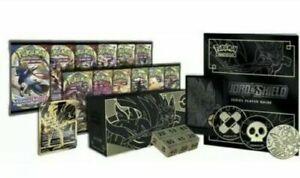 Pokemon Sword and Shield Ultra Premium Collection Zacian & Zamazenta Sealed Box