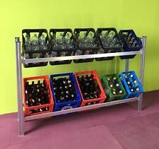 H.75cm Breit1,3m Tief44cm  stabil frei stehend Stecksystem Getränkeregal wieBild