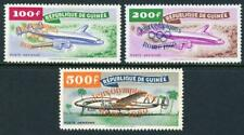 Guinea: Lockheed Constellation 1960 Olympic Overprints Airmails (C24-C26) MNH