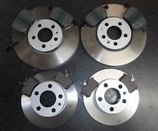 VW NEW BEETLE 1.8T QUALITY FRONT REAR BRAKE DISCS AND PADS PLEASE CHECK SIZES