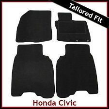 Honda Civic Type S Mk8 2006-2011 Tailored Carpet Car Floor Mats BLACK