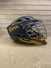 New listing Cascade lacrosse S Helmet. Navy blue with yellow decals and a silver face mask