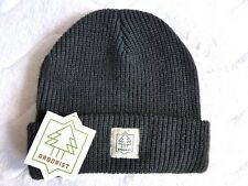 ARBORIST of CANADA Cuff Beanie Watchcap CHARCOAL Hat Toque UNISEX Tag COMFY !