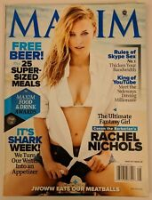 Maxim Magazine #164 August 2011 Rachel Nichols Shark Week Skype Sex YouTube