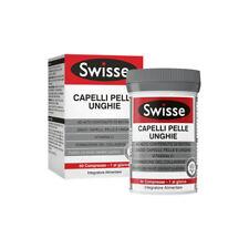 Swisse 60 Cpr Complément Alimentaire pour Croissance Cheveux Ongles Santé Peau