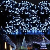 100 LED Solar Power Xmas String Fairy Light Waterproof Garden Lawn Lamp Decor