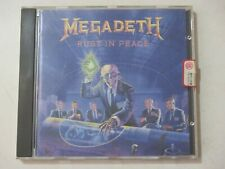 MEGADETH - RUST IN PEACE - CD - ITALY PRESS - 1990 - CAPITOL RECORDS - OTTIME CO