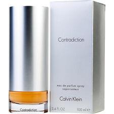 CK CALVIN KLEIN CONTRADICTION EAU DE PARFUM FEMME 100ml VAPO NEUF / BLISTER