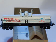 HO Athearn Frontier Chemical Yellow Box Tank Car 1012 kit # 1555 Built