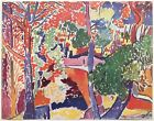 """ANDRE DERAIN RARE 1948 FAUVISM LMTD ED FRENCH LITHOGRAPH PRINT """" PAYSAGE """"  1907"""