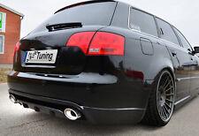 Heckspoiler Heckansatz Spoiler aus ABS für Audi A4 / B7 Avant