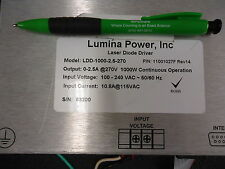 Lumina Power, Inc LDD-1000-2.5-270 Laser Diode Driver