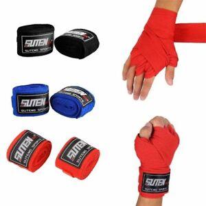 2Pcs/roll Box Sports Strap Boxing Bandage Muay MMA Taekwondo Hand Gloves
