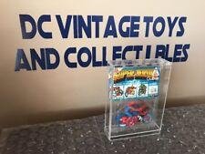 1985 GULLIVER Secret Wars Spider-Man Motorcycle Motos  BRAZIL W/ Card