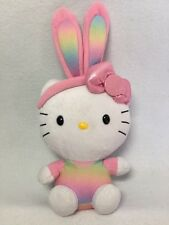 Hello Kitty Plush Ty Stuffed Rabbit Ear Kitty