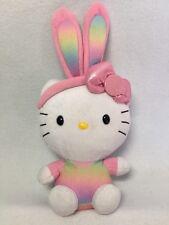 Hello Kitty Plush TY Stuffed Rabbit Ear Kitty