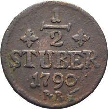 1790  Jülich Berg Large 1/2 Stüber
