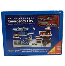 Micro Machines Emergency City Play Set NIB (690)