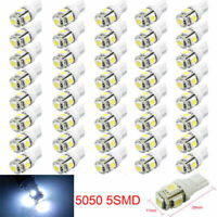 20Pcs T10 Car LED Error Free Canbus 5 SMD Xenon White W5W 501 Side Light Bulbs Y