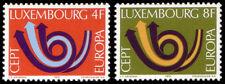 Luxembourg 1973 Mi 862-63 ** Europa Cept