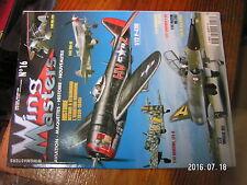 µ!? Revue Wing Masters n°16 Henschel 129-B Stuka Macchi MC 202 Yak-9T MS 225