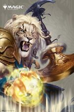 Magic The Gathering - Gaming Poster (Ajani Goldmane - Planeswalker - Mtg)