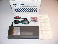 Sharp CE-121 Audio Cassette Interface OVP für Pocket Computer PC-1211 Vintage