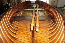 Barn Find 1950 Old Town Canoe Sport boat pulling boat rowing Outboard motor