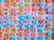 Wholesale Lots 10Pcs Colors Butterfly Polymer Clay Children's Rings 16-19mm FREE