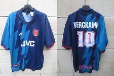 VINTAGE Maillot ARSENAL 1996 away NIKE shirt BERGKAMP n°10 jersey trikot XL