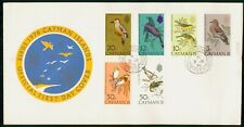 Mayfairstamps Cayman Islands 1974 Birds Combo First Day Cover wwh30325