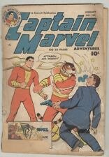 Captain Marvel Adventures #104 January 1950 FR