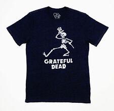 Grateful Dead Shirt T Shirt Dancing Skeleton Top Hat Cane Chaser GDP L Brand New