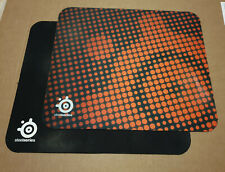 2 SteelSeries QcK Mousepads