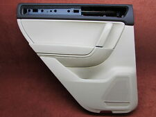 Door Panel Rear Left Braun Beige Leather VW Touareg 7P Original