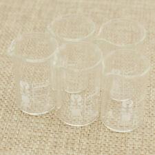 Beste Laborglas Meßbecher 5x 5ml Borosilikatglas Bechergläser Becherglas Neu