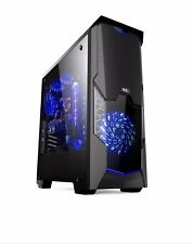 BBC 8804 GAMING PC CABINET,SIDE FULL ACRYLIC PANEL AND 1*3.0 USB ,1*33 LED FAN