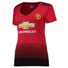 Offiziell Manchester United Heim Shirt Fußball Trikot Top 2018/19 Damen adidas
