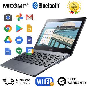 "Acer Chromebook C720P-2625 11.6"" Touchscreen Laptop 1.4 GHz 4GB 16GB SSD Grade A"