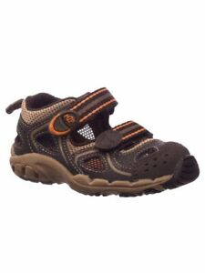 NIB STRIDE RITE Outdoor Athletic Shoes Sandals M2P Perry Dark Brown 12 M