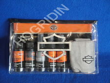 Harley travel care kit cleaner cloth touring softail sportster dyna v rod