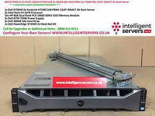 Dell PowerEdge R720XD 2x E5-2670 128GB H710P/1GB 2x 750W 2x 300GB SAS 2U Server